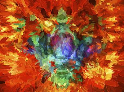 Digital Art - Abstract Series B5 by Carlos Diaz