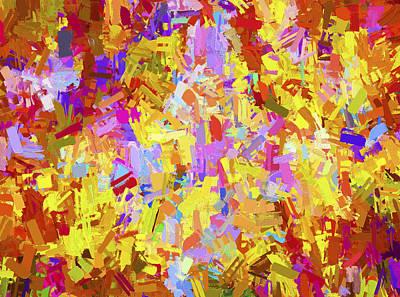 Digital Art - Abstract Series B6 by Carlos Diaz
