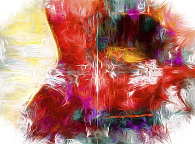 Digital Art - Abstract Series B8 by Carlos Diaz