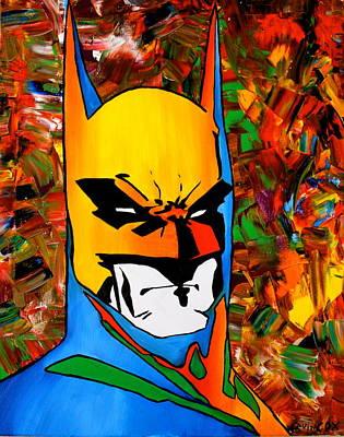 Abstract Bat Original