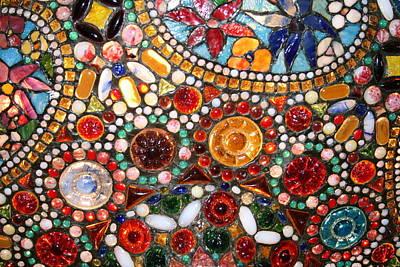 Abstract Beads Art Print