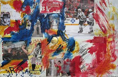 Abstract Blackhawks Original