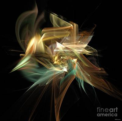 Abstract Bloom  Art Print