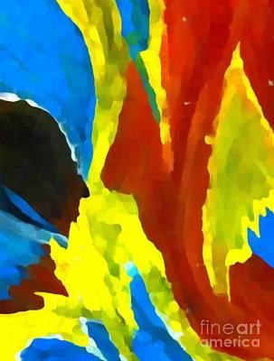 Painting - Abstract Celestial I'v  by Saundra Myles