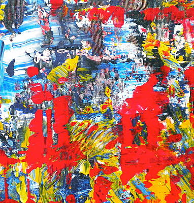 Painting - Abstract Chaos 2 by Dylan Chambers