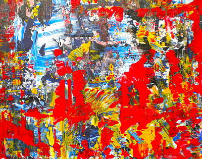 Painting - Abstract Chaos 3 by Dylan Chambers