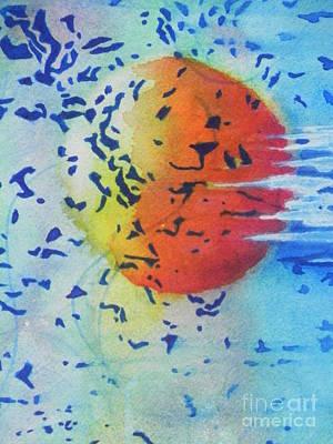 Abstract Art Print by Chrisann Ellis