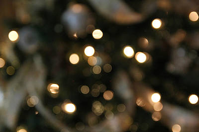 Photograph - Abstract Christmas by Katie Wing Vigil