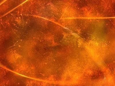 Orange Abstract Art Digital Art - Abstract Christmas by Veronica Minozzi