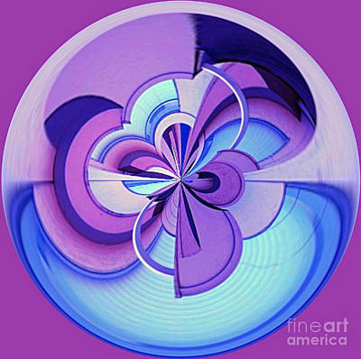 Photograph - Abstract Circle Squared by Chris Anderson