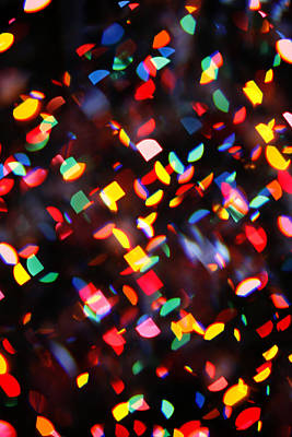 Photograph - Abstract City Lights by Marilyn Hunt