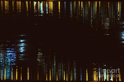 Abstract City Lights Art Print