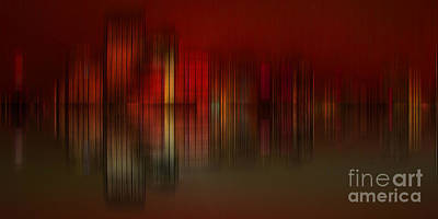 Digital Art - Abstract Cityscape 005b by Stuart Turnbull