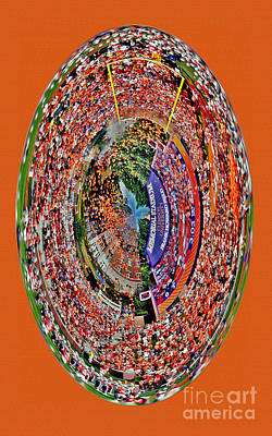 Photograph - Abstract Clemson Stadium Iphone Case by Jeff McJunkin
