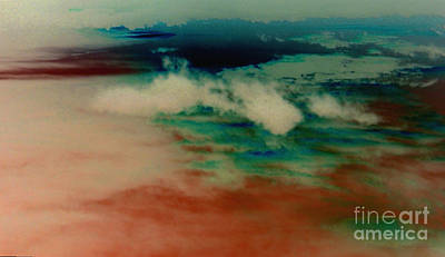 Photograph - Abstract Clouds by Anita Lewis