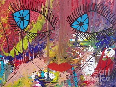 Mora Painting - Abstract Collection by Isolda