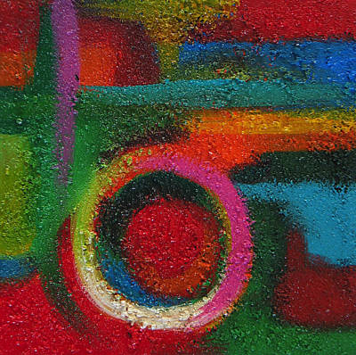 Painting - Abstract Colors Eight by Lance Headlee