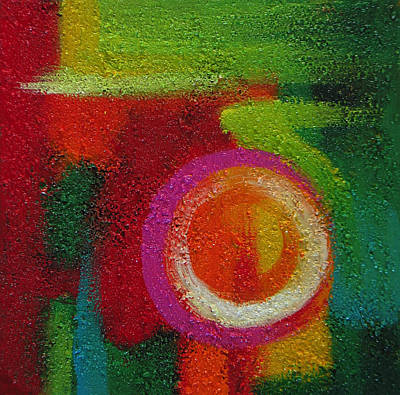 Painting - Abstract Colors Nine by Lance Headlee