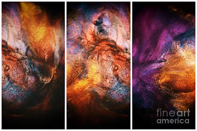Photograph - Abstract Colors Panels by John Rizzuto