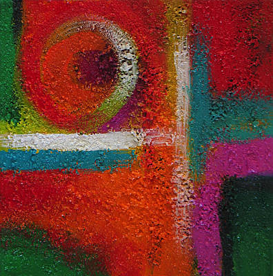 Painting - Abstract Colors Seven by Lance Headlee