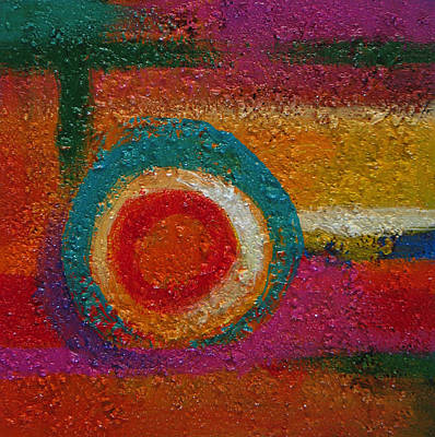 Painting - Abstract Colors Six by Lance Headlee