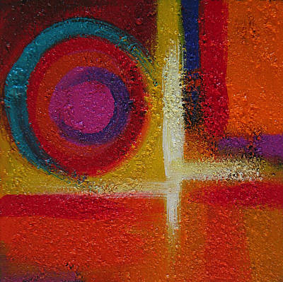 Painting - Abstract Colors Three by Lance Headlee