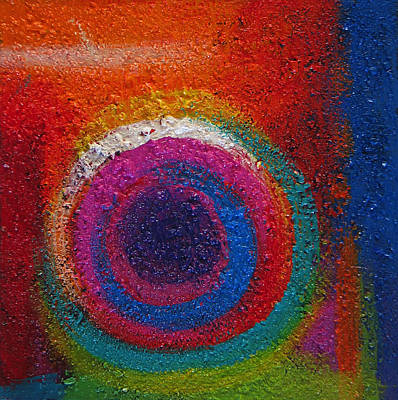 Painting - Abstract Colors Two by Lance Headlee