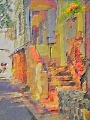 Digital Art - Abstract Comanche Steps - Vertical by Lyn Voytershark