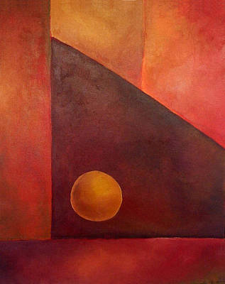Abstract Composition Art Print by Kim Cyprian