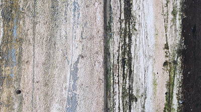 Photograph - Abstract Concrete Trails 2 by Anita Burgermeister