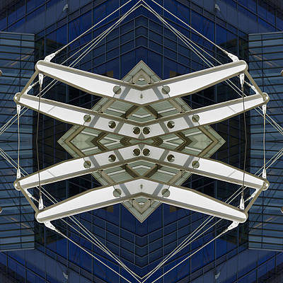 Abstract Construction Art Print by Rick Mosher