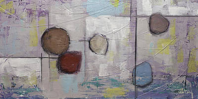 Painting - Abstract Contemporary Modern Painting  by Gray  Artus