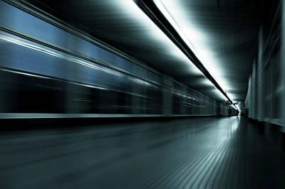 Abstract Movement Photograph - Abstract Corridor by Wladimir Bulgar