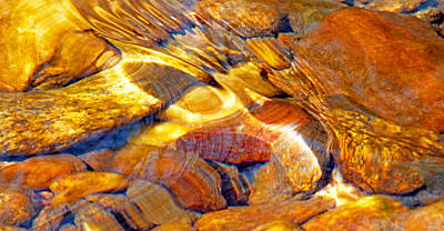 Photograph - Abstract Creek Water 4 by Duane McCullough
