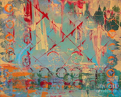 Painting - Abstract Cruiser by Tamyra Crossley