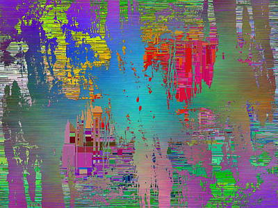 Abstract Cubed 115 Art Print