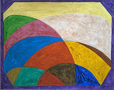 Round Landscapes Original by Stormm Bradshaw