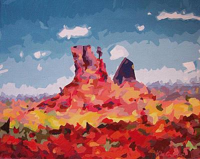 Abstract Desert 1 Art Print