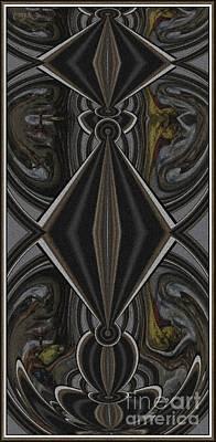 Abstract Door  Ad000001 Art Print by Pemaro