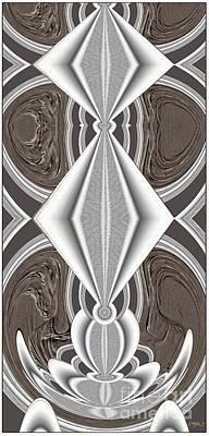Abstract Door  Ad01 Art Print