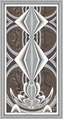 Abstract Door  Ad02 Art Print by Pemaro
