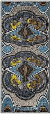 Abstract Door  Adoor000001 Art Print by Pemaro
