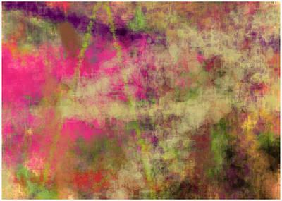 Abstract Dream Profile Art Print by Navin Joshi