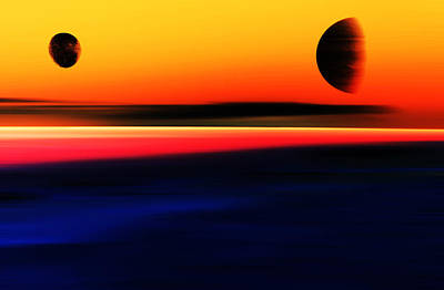 Abstract Dream Scapes Series Forever Dreams . . . Art Print
