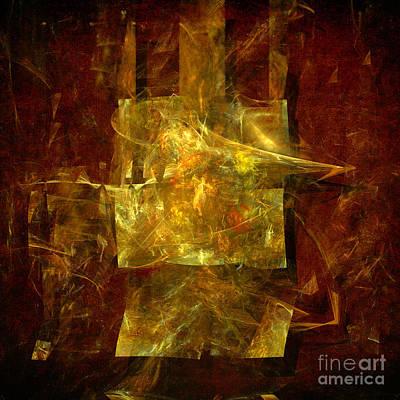Digital Art - Abstract Energy by Alexa Szlavics