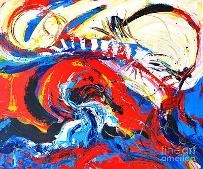 Painting - Abstract Expressionism No. 2 by Patricia Awapara