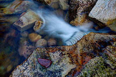 Outdoor Wall Art - Photograph - Abstract Falls by Chad Dutson
