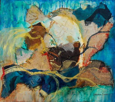 Painting - Abstract Fish Or Not by Maureen Pisano
