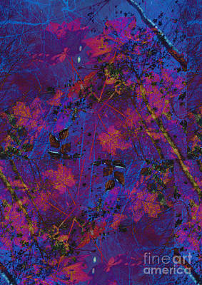 Surrealism Royalty Free Images - Abstract Foliage Royalty-Free Image by Jonathan Welch