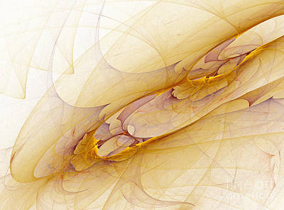 Abstract Forms Art Print by Odon Czintos